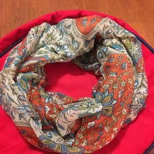 Vintage Infinity Scarf Extra Large